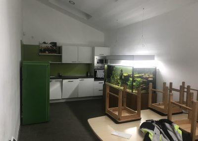Umbau Blomberg - Aufenthaltsraum